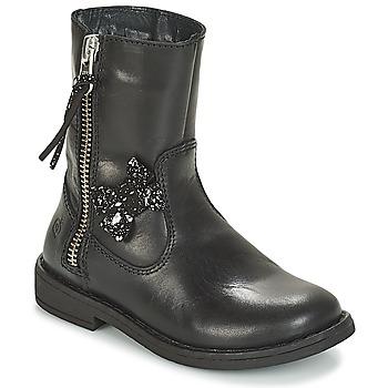 Παπούτσια Κορίτσι Μπότες Citrouille et Compagnie JARINDA Black