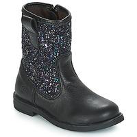 Παπούτσια Κορίτσι Μπότες Citrouille et Compagnie JUCKER Black / Paillettes