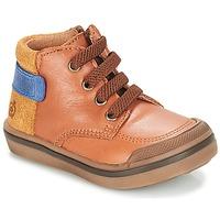 Παπούτσια Αγόρι Μπότες Citrouille et Compagnie JOUIZAE Camel / Yellow
