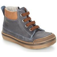 Παπούτσια Αγόρι Μπότες Citrouille et Compagnie JIK Μπλέ / Κονιάκ