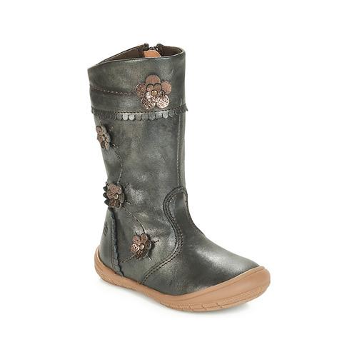 Παπούτσια Κορίτσι Μπότες για την πόλη Citrouille et Compagnie JAMATIS Bronze
