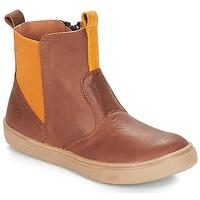 Παπούτσια Αγόρι Μπότες Citrouille et Compagnie JRYNE Camel / Yellow