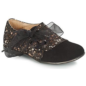 Παπούτσια Κορίτσι Derby Citrouille et Compagnie JETTRA Black / Bronze