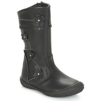 Παπούτσια Κορίτσι Μπότες για την πόλη Citrouille et Compagnie JAMATIS Black