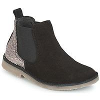 Παπούτσια Κορίτσι Μπότες Citrouille et Compagnie FIGOULI Black / Glitter