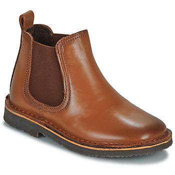 Παπούτσια Αγόρι Μπότες Citrouille et Compagnie JOVETTE Camel