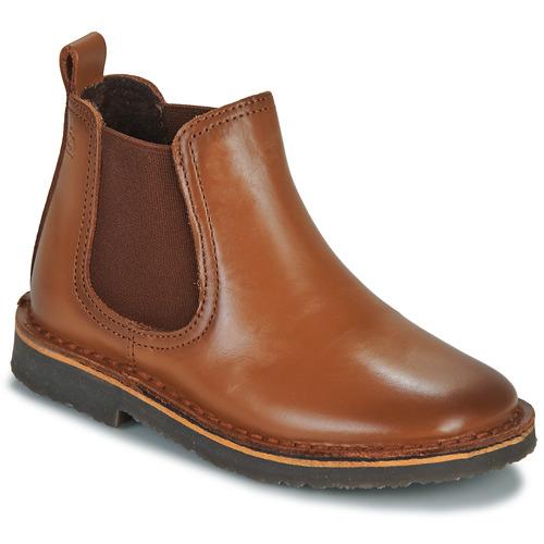 Παπούτσια Παιδί Μπότες Citrouille et Compagnie JOVETTE Camel