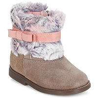Παπούτσια Κορίτσι Μπότες Citrouille et Compagnie JERRADJE Grey / Ροζ