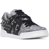 Παπούτσια Γυναίκα Χαμηλά Sneakers At Go GO MICROCRACK ARGENTO Grigio