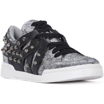 Xαμηλά Sneakers At Go GO MICROCRACK ARGENTO