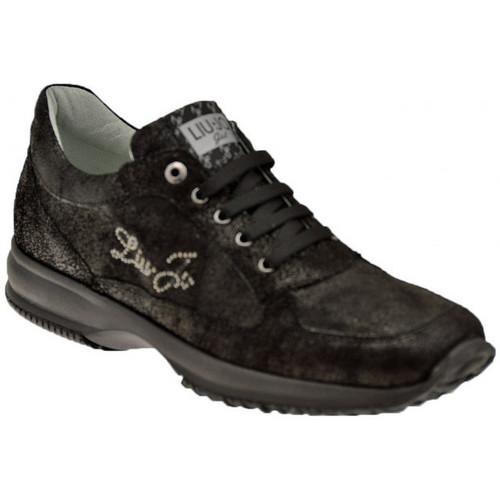 Παπούτσια Γυναίκα Χαμηλά Sneakers Liu Jo  Black