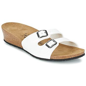 Παπούτσια Γυναίκα Τσόκαρα Papillio ANNE VERNIS / άσπρο