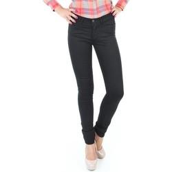 Υφασμάτινα Γυναίκα Skinny jeans Wrangler Jaclyn INK LUX W26DBI33L black