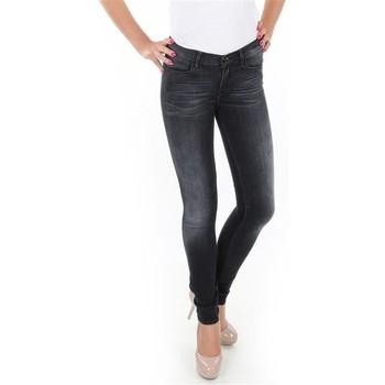 Υφασμάτινα Γυναίκα Skinny jeans Wrangler Jaclyn W26DLI53K black