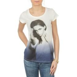 Υφασμάτινα Γυναίκα T-shirt με κοντά μανίκια Lee T-shirt  Photo Tee Cloud Dancer L40IAUHA white, blue, grey