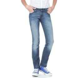 Υφασμάτινα Γυναίκα Skinny Τζιν  Lee Marlin L337AMPI blue