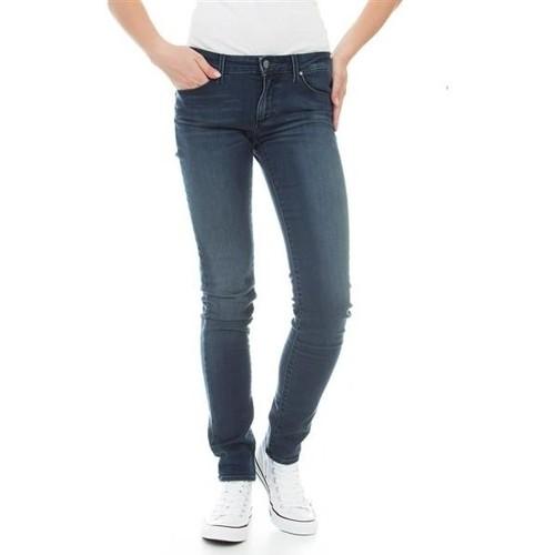 Υφασμάτινα Γυναίκα Skinny jeans Wrangler Molly River Washed W251ZB33T blue
