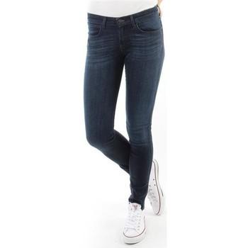 Υφασμάτινα Γυναίκα Skinny jeans Wrangler Spodnie Damskie CORYNN BLUE SHELTER W25FU466N blue