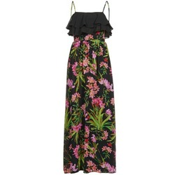 Υφασμάτινα Γυναίκα Μακριά Φορέματα Morgan RASSIM Black / Green