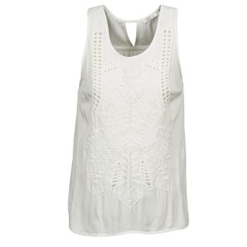 Υφασμάτινα Γυναίκα Αμάνικα / T-shirts χωρίς μανίκια See U Soon CHELSEA άσπρο / Grey