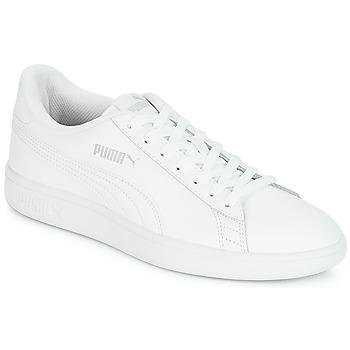 Παπούτσια Άνδρας Χαμηλά Sneakers Puma SMASH Άσπρο