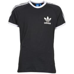 Υφασμάτινα Άνδρας T-shirt με κοντά μανίκια adidas Originals SPORT ESS TEE Black