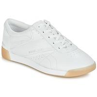 Παπούτσια Γυναίκα Χαμηλά Sneakers MICHAEL Michael Kors ADDIE LACE UP Άσπρο