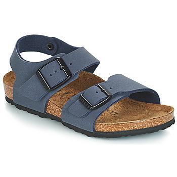 Παπούτσια Παιδί Σανδάλια / Πέδιλα Birkenstock NEW YORK Μπλέ