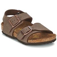 Παπούτσια Παιδί Σανδάλια / Πέδιλα Birkenstock NEW YORK Μόκα