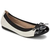 Παπούτσια Γυναίκα Μπαλαρίνες Moony Mood ELALA Άσπρο / Black