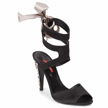 Παπούτσια Γυναίκα Σανδάλια / Πέδιλα Charles Jourdan MADNESS Black / Sable