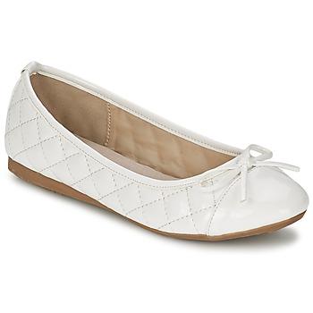 Παπούτσια Γυναίκα Μπαλαρίνες Moony Mood VOHEMA άσπρο / VERNI