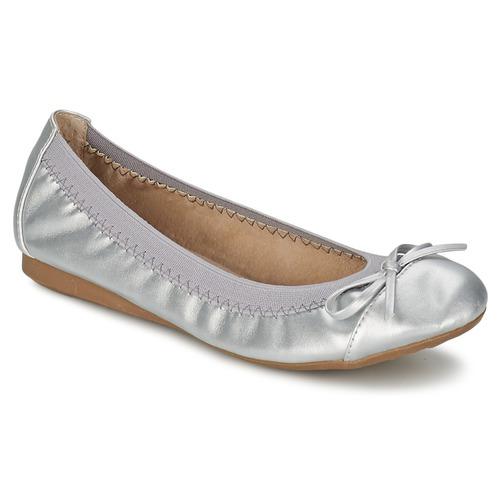 Παπούτσια Γυναίκα Μπαλαρίνες Moony Mood BOLALA Argenté