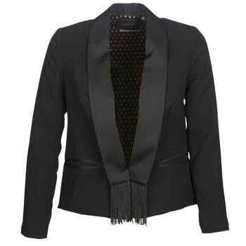 Υφασμάτινα Γυναίκα Σακάκι / Blazers Maison Scotch BOUKOUM Black