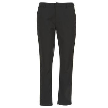 Υφασμάτινα Γυναίκα παντελόνι παραλλαγής Maison Scotch ZERATRE Black / Άσπρο