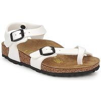 Παπούτσια Κορίτσι Σανδάλια / Πέδιλα Birkenstock TAORMINA Άσπρο / Verni