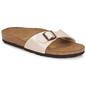 Παπούτσια Γυναίκα Τσόκαρα Birkenstock MADRID Κρεμ