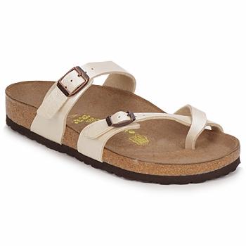 Παπούτσια Γυναίκα Τσόκαρα Birkenstock MAYARI Κρεμ