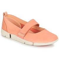 Παπούτσια Γυναίκα Μπαλαρίνες Clarks Tri Carrie Pink / Nubuck