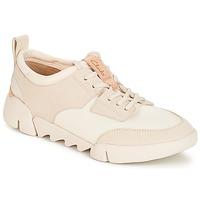 Παπούτσια Γυναίκα Χαμηλά Sneakers Clarks Tri Spirit Ασπρό / Combi