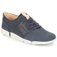 Παπούτσια Γυναίκα Χαμηλά Sneakers Clarks Tri Caitlin Navy / Combi