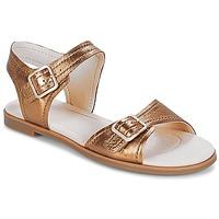 Παπούτσια Γυναίκα Σανδάλια / Πέδιλα Clarks Bay Primrose Bronze / Μεταλικό