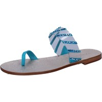 Παπούτσια Γυναίκα Σανδάλια / Πέδιλα Eddy Daniele AW487 Μπλε