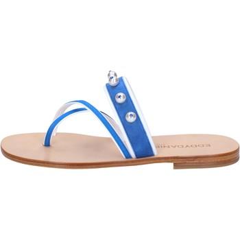 Παπούτσια Γυναίκα Σανδάλια / Πέδιλα Eddy Daniele AW06 Μπλε