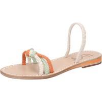 Παπούτσια Γυναίκα Σανδάλια / Πέδιλα Eddy Daniele AW479 λευκό