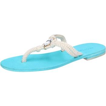 Παπούτσια Γυναίκα Σανδάλια / Πέδιλα Eddy Daniele AW509 λευκό