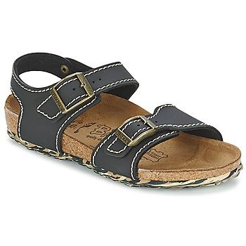 Παπούτσια Κορίτσι Σανδάλια / Πέδιλα Birki's NEW YORK NEOPRENE / ΜΑΥΡΟ