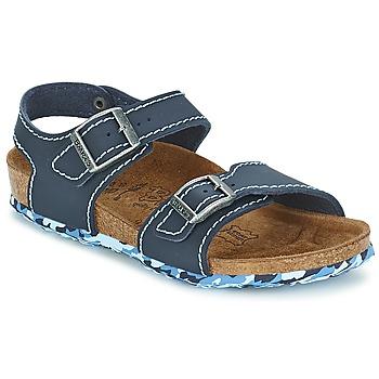 Παπούτσια Κορίτσι Σανδάλια / Πέδιλα Birki's NEW YORK NEOPRENE / MΠΛΕ