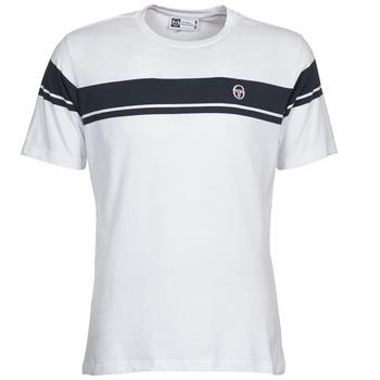 Υφασμάτινα Άνδρας T-shirt με κοντά μανίκια Sergio Tacchini YOUNG LINE άσπρο
