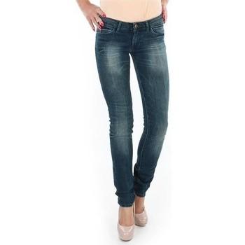 Υφασμάτινα Γυναίκα Skinny jeans Wrangler Spodnie  Molly 251XB23C blue